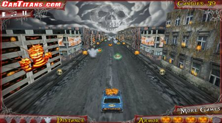 Captura de pantalla - HalloWheels: Carreras de Halloween